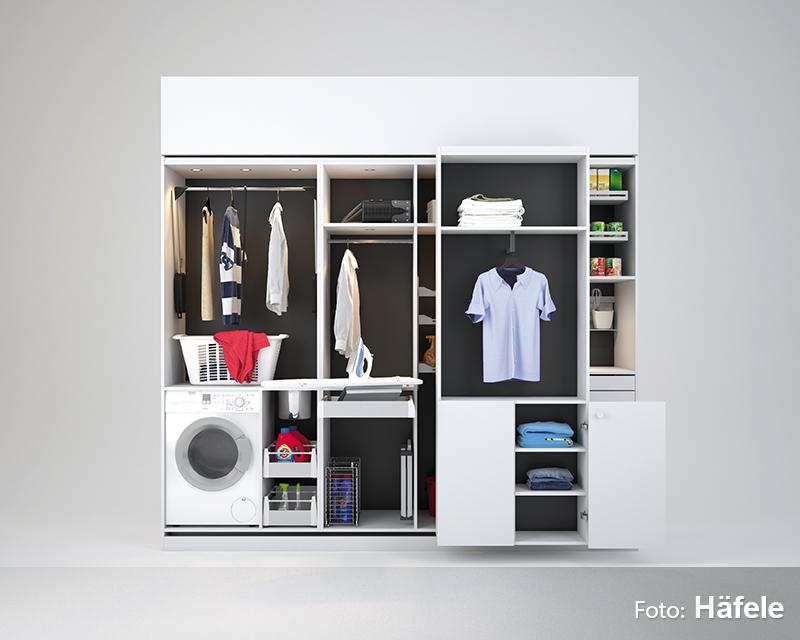 Individuelle Kleiderschränke nach Maß gefertigt